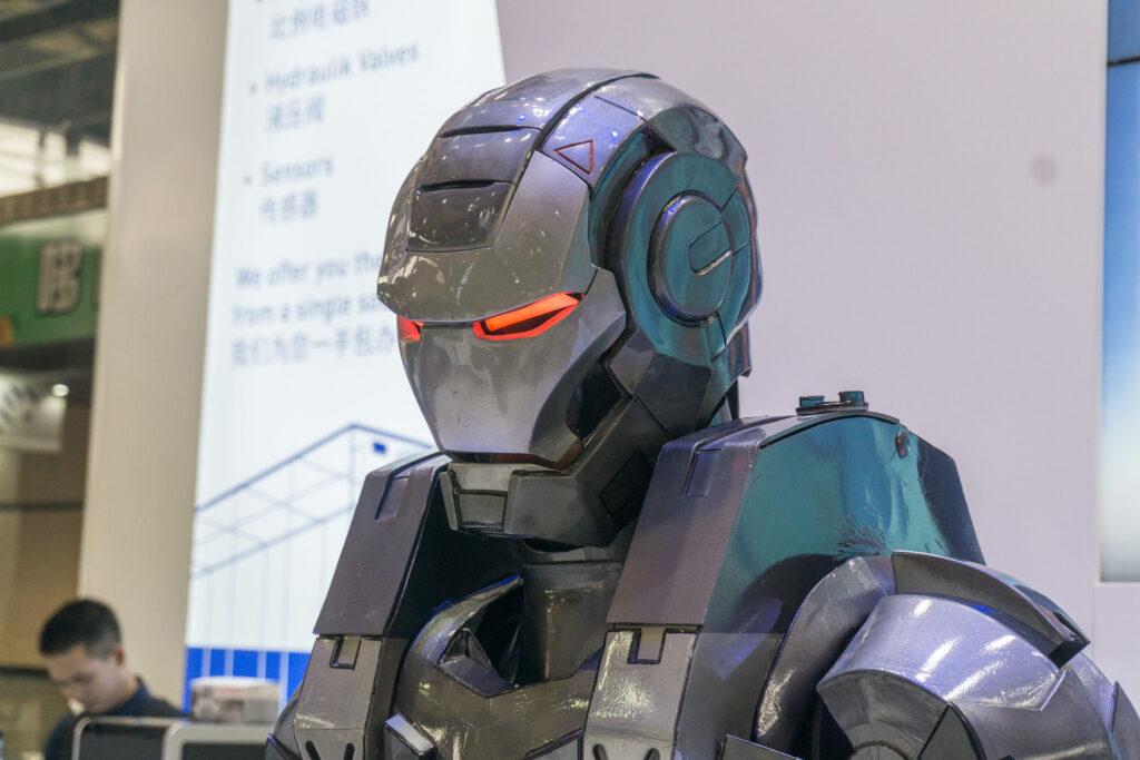 Iron Man, War Machine, Move the robot, Kognitives Branding, Storytelling, Marke, Marketing auf der PTC 2019